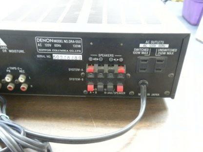 Denon DRA 550 Home Stereo Precision Audio Component Tuner Amp Receiver Works 264580448066 5
