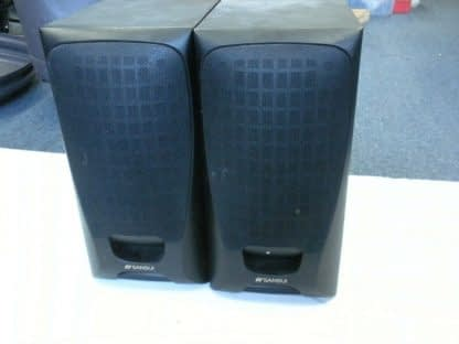 Pair SANSUI MICRO 1500 speakers 264648447783 2