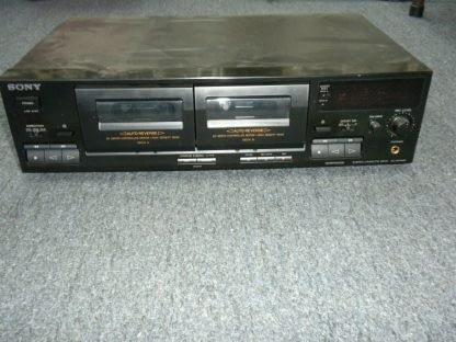 Vintage Audiophile Sony TC WR465 Dual Cassette Tape Deck working 264277759752