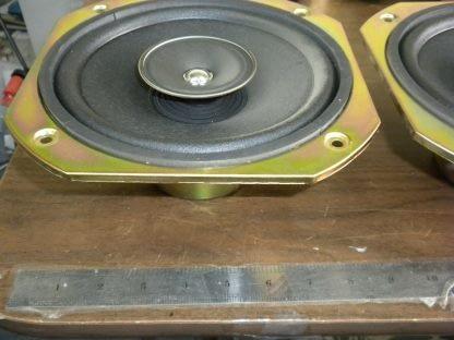 Pair SONY 40 Watt 8 Ohm 8 Diameter Full Range Speakers 1 544 014 11 274129145584 2