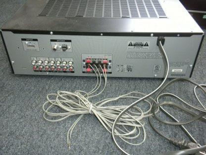 Vintage Sony 5 disc CD changer Amplifier Speaker Set Works Perfect Looks Great 264594046341 9