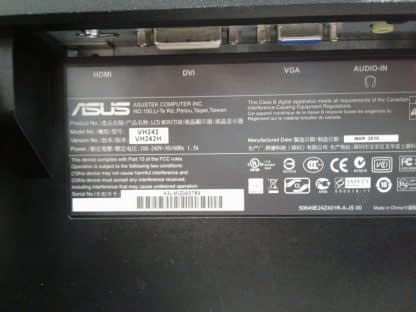 ASUS VH242H LCD Monitor DVI VGA HDMI Works GREAT 274441053450 4