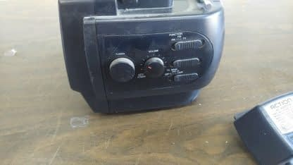 Vintage Portable 45 bw Tv with AMFM Radio and LCD Alarm Clock Action 274147844887 7