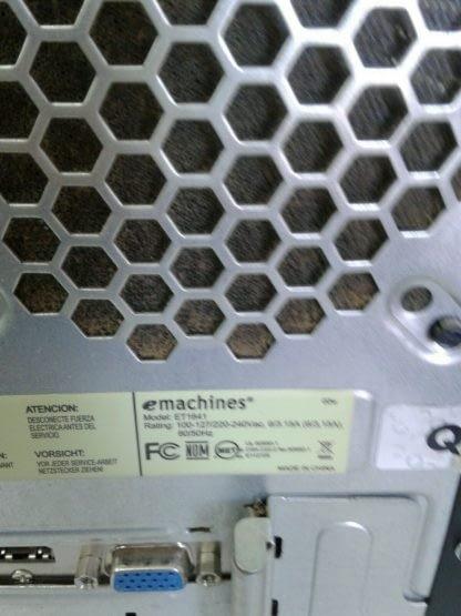 Vintage emachine ET1641 02W Desktop Windows 10 Works GREAT 264807719230 10