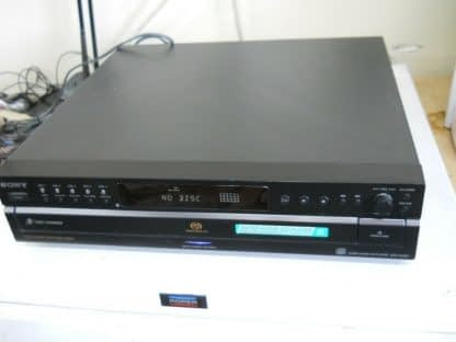 Vintage Sony SCD CE595 CD 5 Disc Changer Excellent Multichannel 274405663699