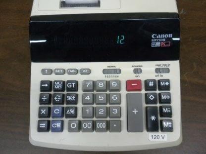 Canon MP25D III Desktop Calculator Extra Large Display 12 Digit 2 Color Print 274147844893 2