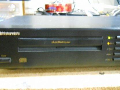 Vintage Rare Nakamichi MB 8 CD Player 5 disc Musicbank Changer 264714732727 4