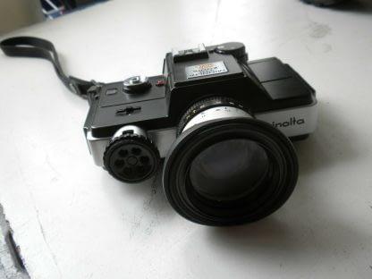 Vintage Minolta110 ZOOM SLR CAMERA With Case 273944048830 4