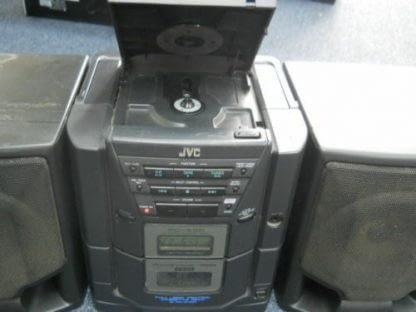 Vintage Boombox Portable CD Player Cassette player Radio JVC X101BK 264580448050 3
