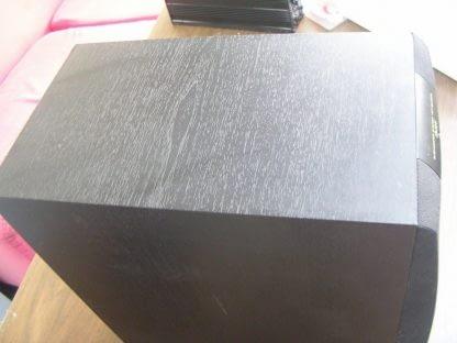 Yamaha YST SW005 Subwoofer System 55 watts amplifier output Active Servo tech 264580448069 6