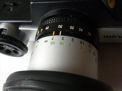 Vintage Minolta110 ZOOM SLR CAMERA With Case 273944048830 8