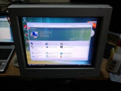 Vintage Samsung Syncmaster 753DF 17 VGA RGB CRT Computer Monitor Works Good A 274433708648 3