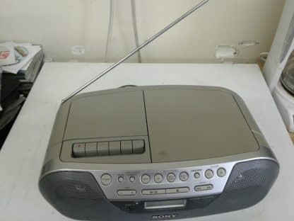Sony CFD S05 CD Player Radio Cassette AUX Portable Stereo Boombox EXCELLENT 264870084455 3