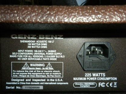 Classic Shenandoah acoustic 150 LT 150LT PA Speaker Works GREAT 264570328639 8