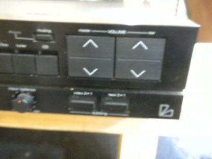 Vintage Luxman F 105 Stereo Surround Amplifier All original works great 274223911583 4