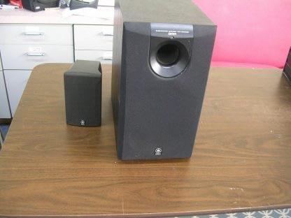 Yamaha YST SW005 Subwoofer System 55 watts amplifier output Active Servo tech 264580448069