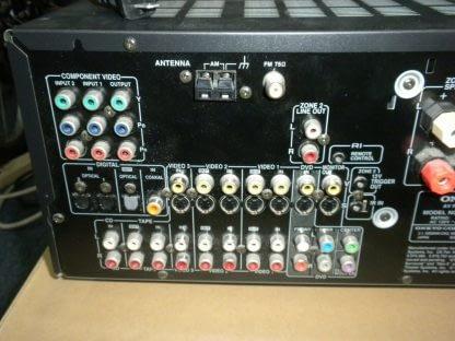 Vintage Onkyo TX SR601 61 Channel 110 Watt Receiver 264594046339 3