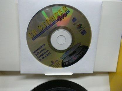 Vintage CD STOMPER PRO CD LABELING SYSTEM Win 95 98 31 NT 264352239627 4