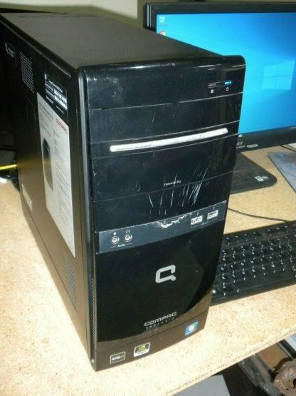 Compaq Presario CQ5727F Desktop PC Win 10 Pro Runs Good 264615410601 2