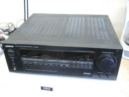 Vintage KENWOOD KR V8030 Audio Video Receiver 274405645603 9