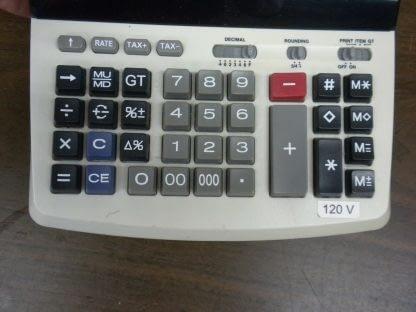 Canon MP25D III Desktop Calculator Extra Large Display 12 Digit 2 Color Print 274147844893 4