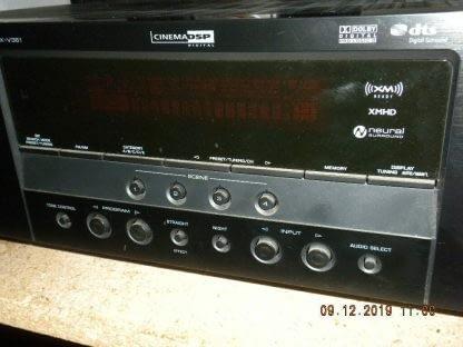 Yamaha RX V361 51 Channel 100 Watt Receiver Works GREAT 264580448048 2