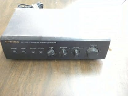 OPTIMUS MODEL SA 155 INTEGRATED STEREO AMPLIFIER USED 264261046657 2