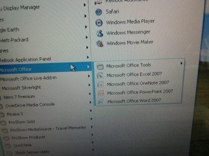 Fujitsu Lifebook A6120 Laptop Windows XP Pro Works great 274490393015 6