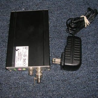 NV412A Network Video ServerEncoder Converter CCTV Camera Charger incl ADT 273949770122