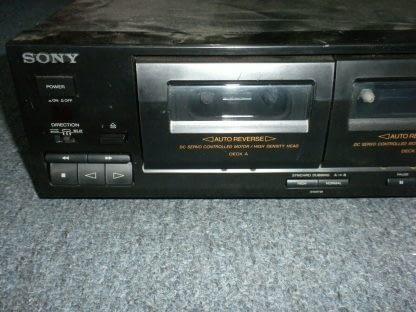 Vintage Audiophile Sony TC WR465 Dual Cassette Tape Deck working 264277759752 3