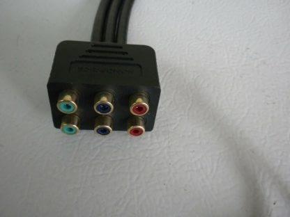 Monoprice PREMIUM 3 RCA RGB RG 6u Component Video Splitter 264541077435 2