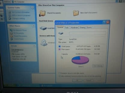 Vintage Dell Latitude PP01L Windows XP Pro Works Great Tested 264656301700 4