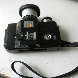 Vintage Minolta110 ZOOM SLR CAMERA With Case 273944048830