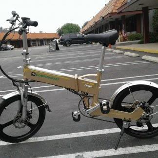 Compact folding ebike Electric bike Men Women Teens Easy to Ride 264295742822