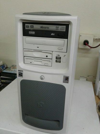 Vintage Gateway Select 1100 desktop PC Win XP Works GREAT 264845908953 2