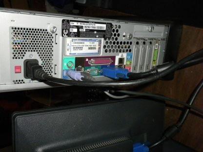 Vintage Gateway MFATXNIN DAS 300S Slim Desktop Win XP Works Great All Original 274147837124 8