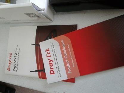 Dual Wan Security Wireless Router Draytek Vigor 2912n VPN USB Cable DSL Fiber 274552313208 9