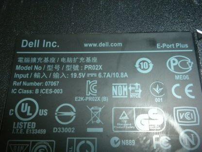 Lot 8 Dell Docking Station PR02X K09A002 for E6400 E6410 etc 274147844895 4